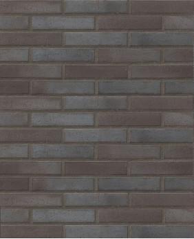 Брусчатка клинкерная «Stroeher - 336 Metallic Black R52»