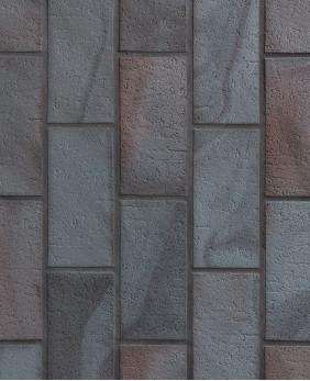 Брусчатка клинкерная «Stroeher - 336 Metallic Black»