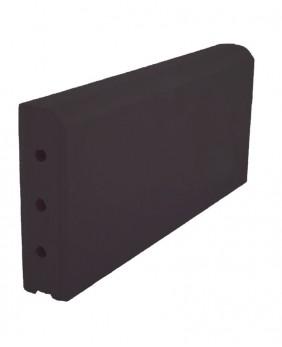 Керамические бордюры «KR Dark Braun - Темно-Коричневый»