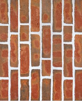 Срезы с кирпича ручной формовки «Edwardian Multi Red - WK962»