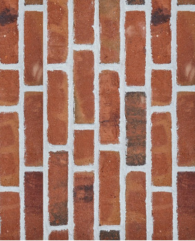 Срезы с кирпича ручной формовки «Selbourne Multi Red Stock - WK963»