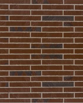 Клинкерная плитка «Alaska Braun Kohlebrand Schieferstruktur Langformat R490»