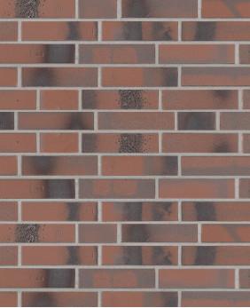 Клинкерная плитка «BrickWerk 654 - Flammenrot»