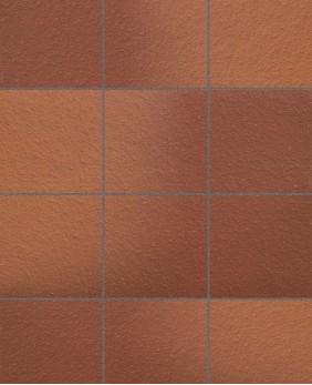 Клинкерная напольная плитка «Terra - 316 Patrizierrot Ofenbunt»