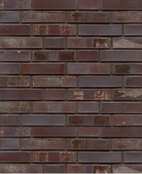 Клинкерный кирпич «Violettblau Geflammt Spezial (WK 10s - 71 mm)»