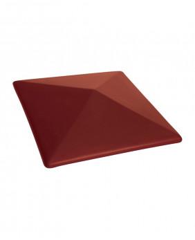 Керамические клинкерные колпаки для столбов «Нота цинамона - 06»