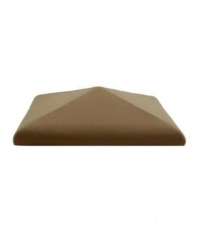 Керамические клинкерные колпаки для столбов «Brown ZG»