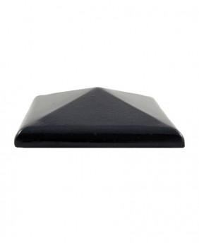 Керамические клинкерные колпаки для столбов «Dark Brown Glazed ZG»