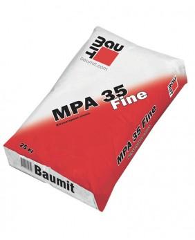 Цементно-известковая штукатурка «MPA 35 Fine»