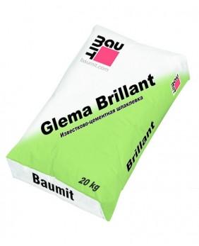 Известковая шпаклёвка с небольшим добавлением «GlemaBrillant»