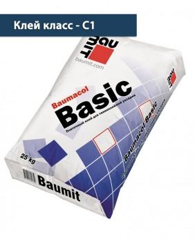 Тонкослойный плиточный клей «Baumacol Basic»