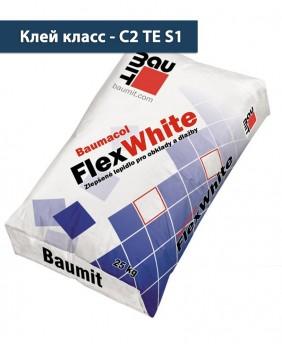 Эластичный плиточный клей «Baumacol FlexWhite»
