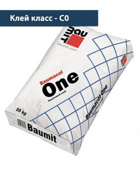 Тонкослойный плиточный клей «Baumacol One»