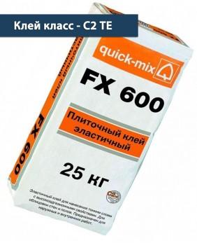 Эластичный плиточный клей «FX 600 - Арт. 72340»