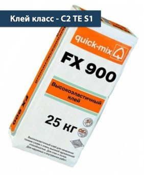 Эластичный плиточный клей «FX 900 - Арт. 72341»
