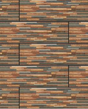 Цокольная плитка «Zebrina Rust»