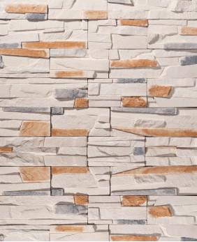 Искусственный камень для цоколя и фасада «Тонкий Пласт - 03»
