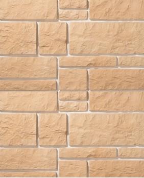 Искусственный камень для цоколя и фасада «Юрский Мрамор - 02»