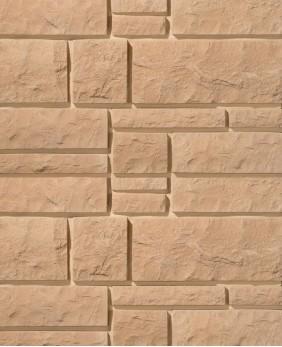 Искусственный камень для цоколя и фасада «Юрский Мрамор - 03»