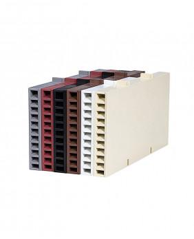 Коробочки «10 цветов - R115 мм» для вентиляции кирпича