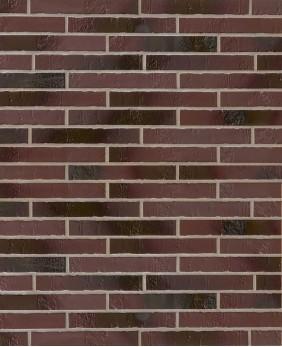 Клинкерная плитка «Blankenese Kohlebrand Langformat R490»