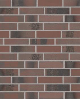 Клинкерная плитка «BrickWerk 655 - Violettrot SF #105»