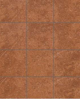 Клинкерная напольная плитка «Roccia - 841 Rosso»