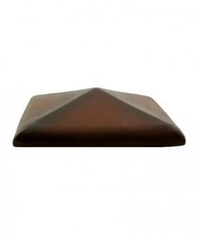 Керамические клинкерные колпаки для столбов «Dub ZG. Размер 300 x 300 мм.»
