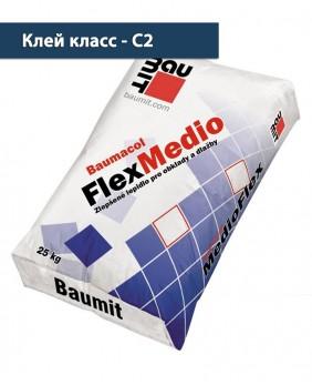 Толстослойный плиточный клей «Baumacol FlexMedio»