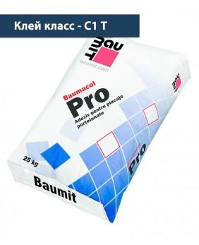 Тонкослойный плиточный клей «Baumacol Pro»