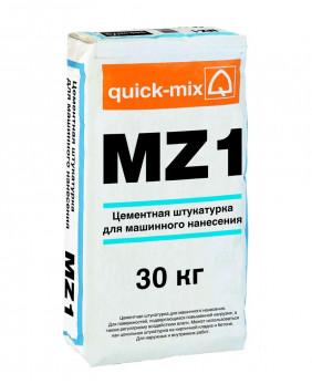Цементная штукатурка для машинного нанесения, гидрофобная  «MZ 1 h - Арт. 72354»